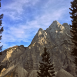 Panoramic view on Mount Triglav