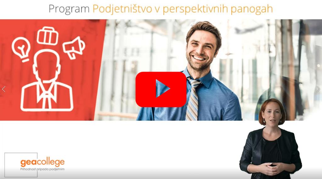 Podjetništvo v perspektivnih panogah_Video-predstavitev
