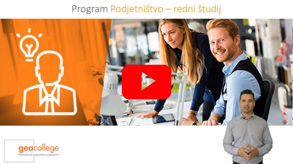 Podjetništvo_Video predstavitev