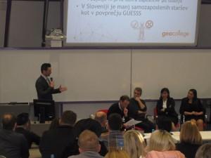 Dr. Mitja Jeraj, predavatelj na Fakulteti za podjetništvo GEA College, je spregovoril o mednarodno priznani raziskavi GUESSS